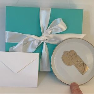 NWT TIFFANY & CO. Porcelain Ring Dish